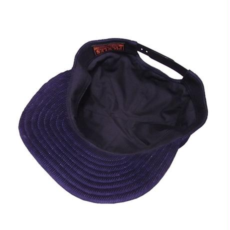 SNAP BACK CAP CORDUROY NAVY