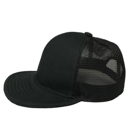 SNAP BACK MESH CAP BLACK