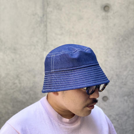 "BUCKET SLOPE HAT ""DENIM"""