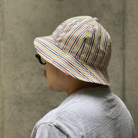 "6P HAT "" MULTI STRIPE"""