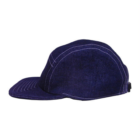 CAMP CAP  INDIGO DENIM