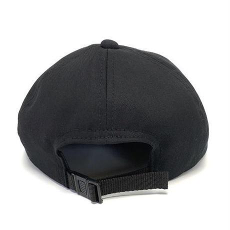 LOW STRAP CAP -TWILL BLACK -