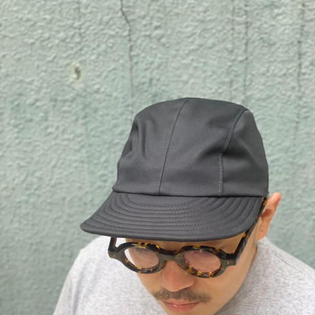 FOUR CORD CAP  -TWILL BLACK-