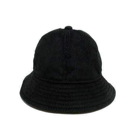"6P HAT   ""MID WAVE CORDUROY BLACK"""