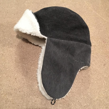 BOMBER CAP  USED FABRIC ONE OFF 01