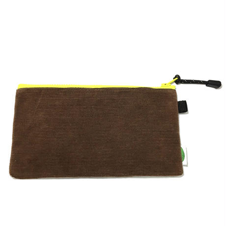 P-POUCH TYPE-2 M  CORDUROY BROWN