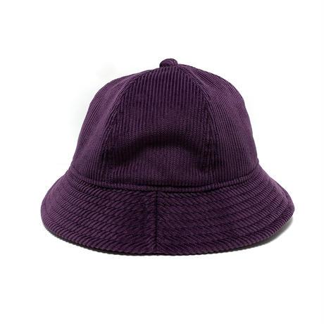 "6P HAT   ""MID WAVE CORDUROY DEEP PURPLE """