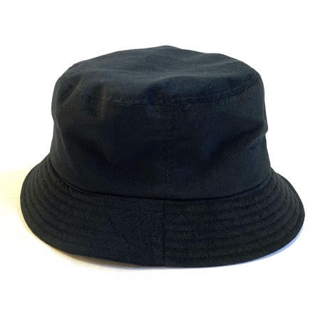 "BUCKET HAT  ""CORDUROY BLACK"""