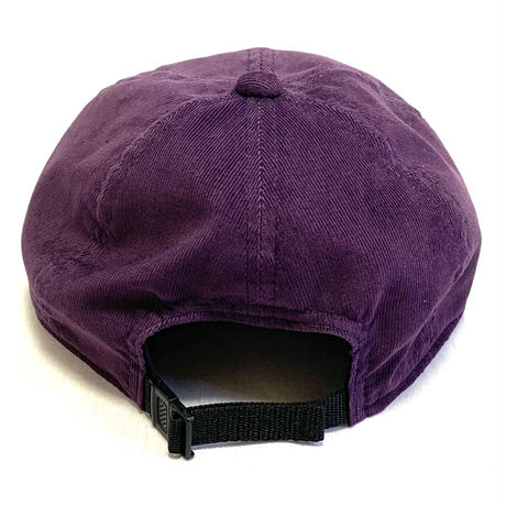 "LOW STRAP CAP ""THIN CORDUROY PURPLE"""