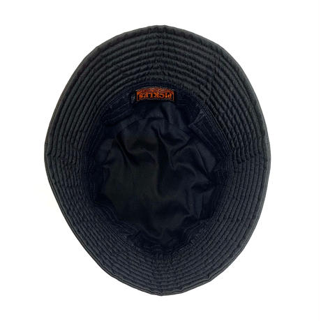 "BUCKET SLOPE HAT ""NYLON BLACK"""