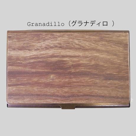 BRASS & WOOD CARDCASE RUST(本体サビタイプ) +BOX