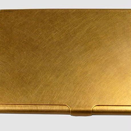 BRASS CARDCASE+ SOLID