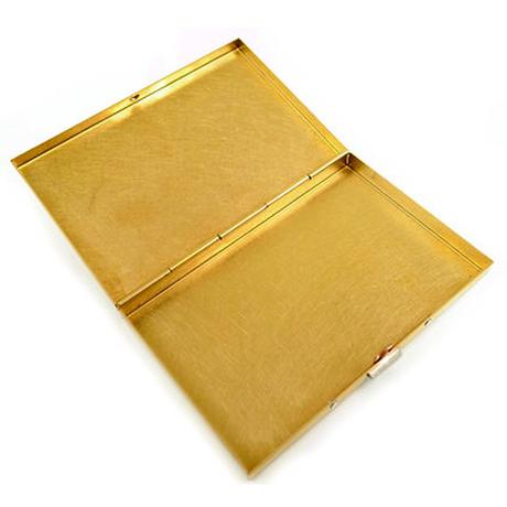 BRASS BOX CARDCASE+ SOLID