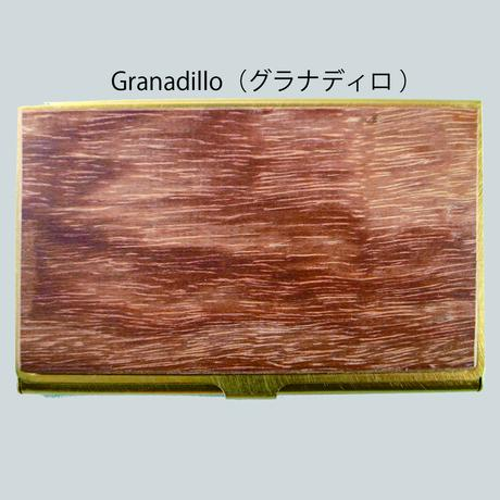BRASS & WOOD CARDCASE SOLID(本体無垢タイプ) +BOX