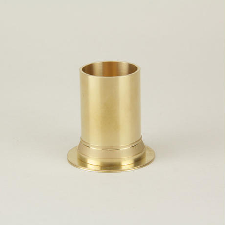 BRASS PEN STAND 02 SOLID