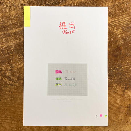 A4 SORTING FILE 10PCS+12paper SET GRAY/BROWN