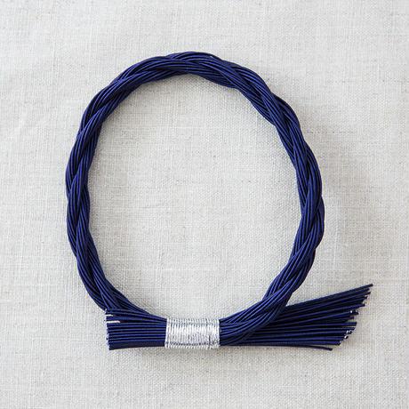 水引しめ飾り(ねじり)紺 PHC-071-4