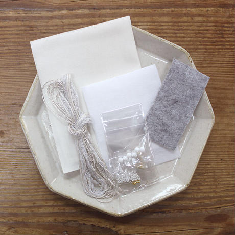 haitmonicaピアスキット    オーロラ - WHITE - PHC-095-1
