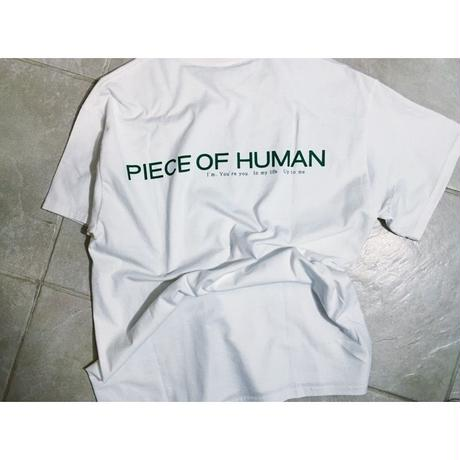 """welcome to the"" piece of  human  T"