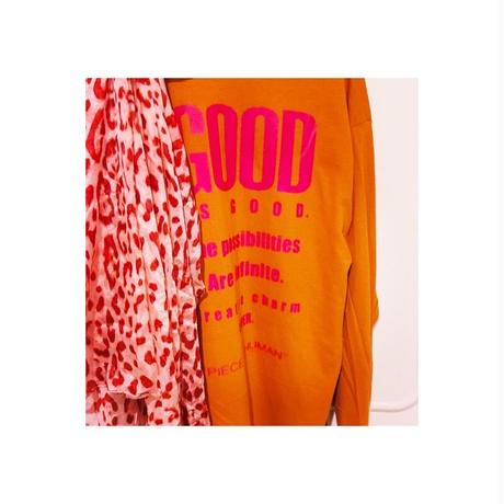 """GOOD is GOOD"" long tee"