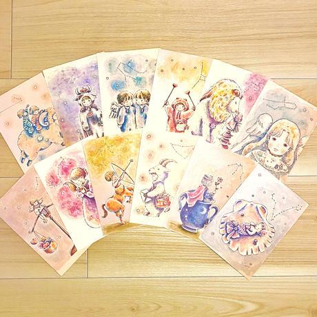 ポストカード(真夜中の星座編)