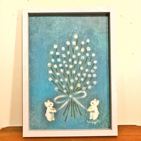 4Aポスター(flowers)