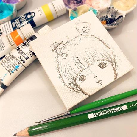 原画/愛がいっぱいしゅごれいちゃん/おばけフェア作品