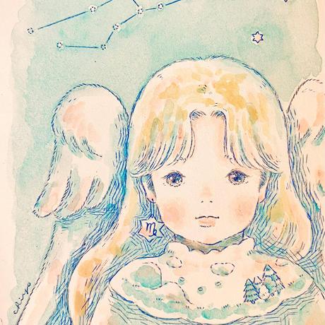 原画/乙女座-Virgo-(額入り)