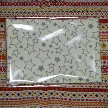 20061 マスク Mサイズ 星柄 白色