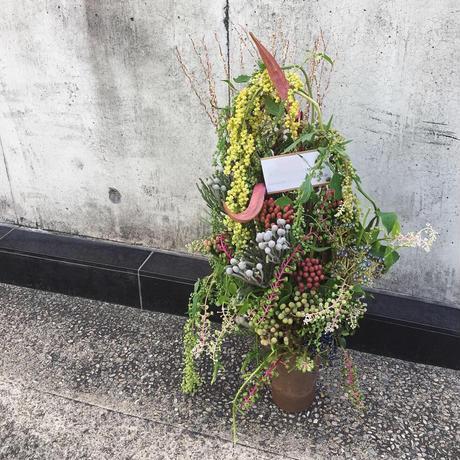 seasonal flower arrangement h40 w40