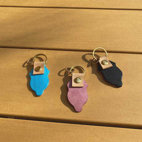 ecoRAL lether key ring