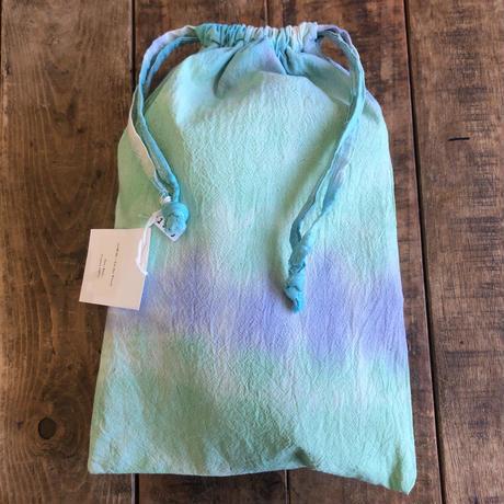 ecoRAL tie-dye 巾着