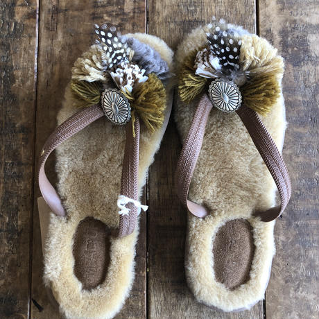 Mouton Jelly Sandals