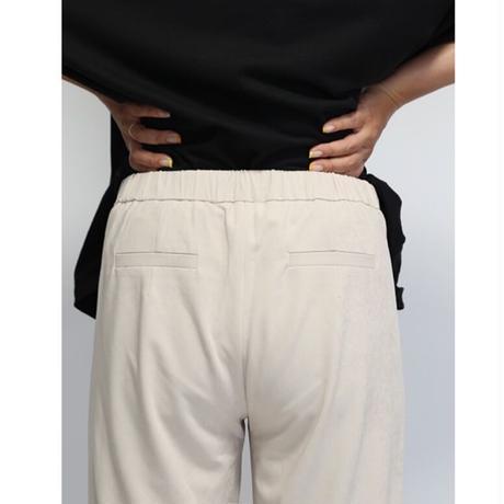 Daddy'sgirl peachsatin tuck pants