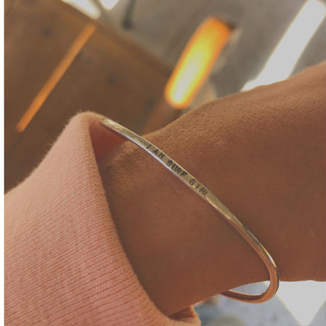marino Spell swell silver bangle