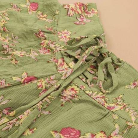 Leona flower short pants