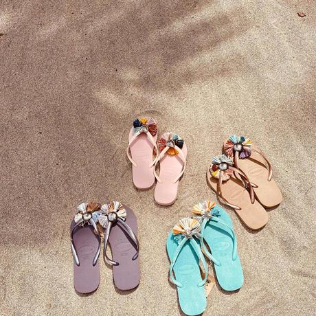 Jelly lilac beige mix sandal
