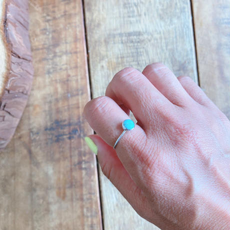 swell jewelry ターコイズシルバーリング