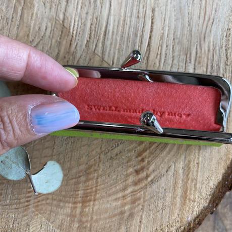 Swell jewelry レザーハンコケース