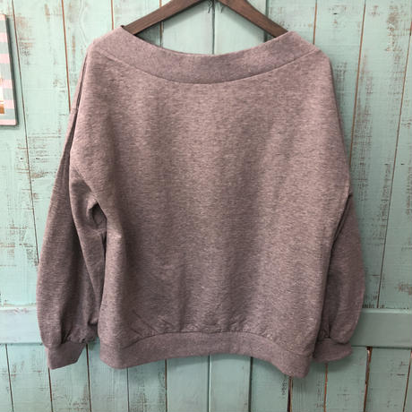 ginger and sprout Sweat Boat Neck