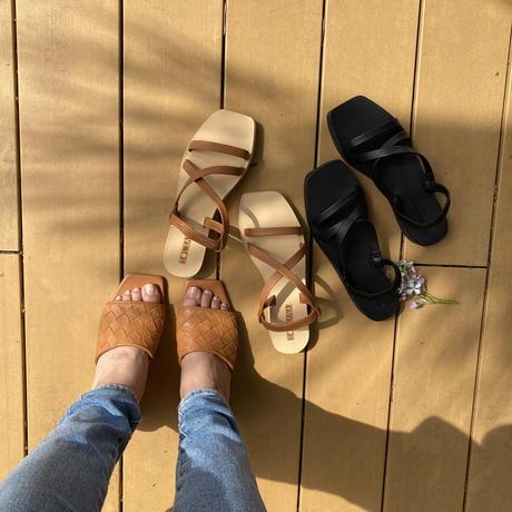 solsana shoes ストラップサンダル