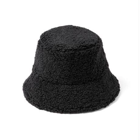 lack of color Teddy bucket hat
