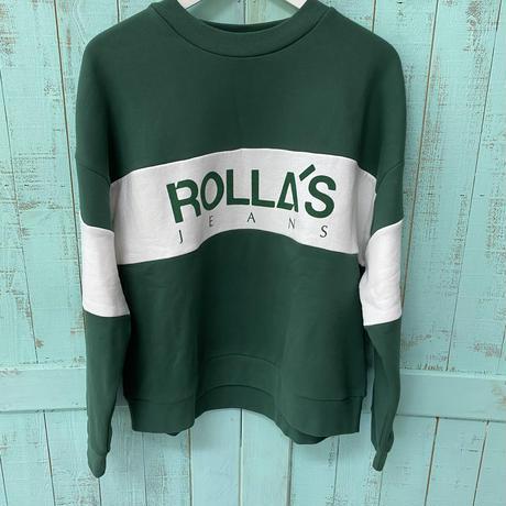 Rolla's logo sweat green