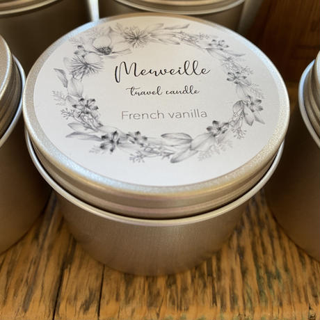 Merveille Travel soy candle
