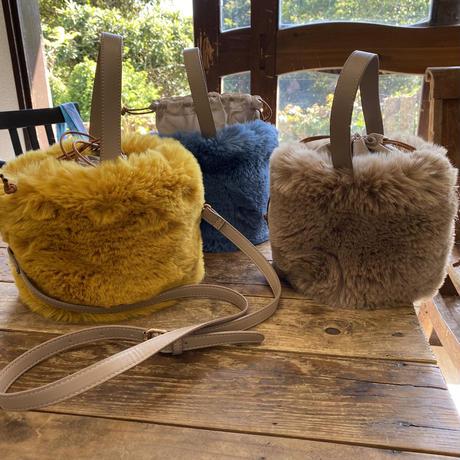 Daddy'sgirl Eco Fur 2.way bag
