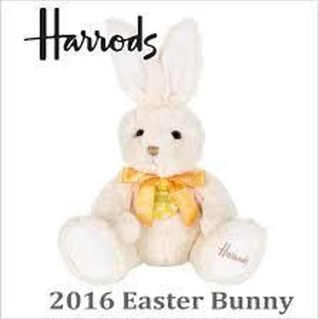 [Harrods] ハロッズ 2016年限定 イースターバニー Easter Bunny 2016
