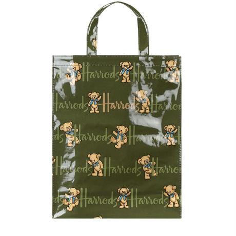 Harrods (ハロッズ) トートバッグ / ショッピングバッグ - Mサイズ  (ルーファスベア)