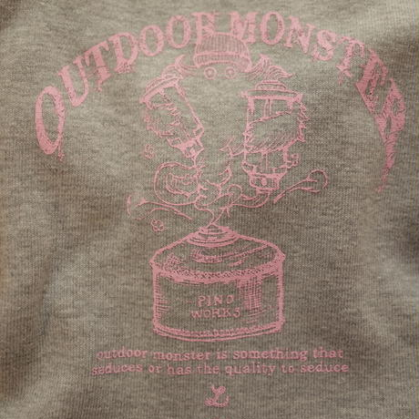 OUTDOORMONSTER×pinoworks DOG-T(5Lサイズ)