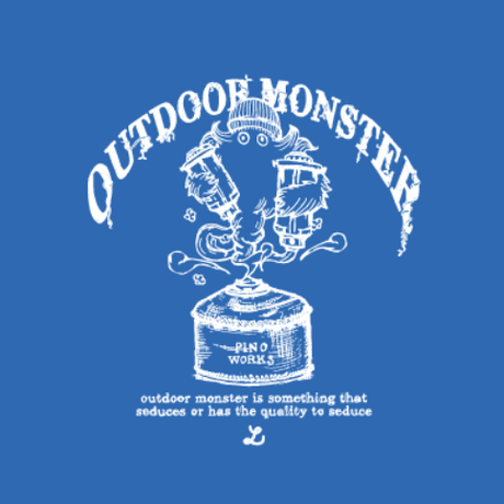 OUTDOORMONSTER×pinoworks DOG-T  (MD-Mサイズ)