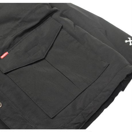 BLUCO(ブルコ) 047-021 60/40 MOUNTAIN PARKA 4色(ブラック・オレンジ・ネイビーxカーキ・カーキxブラック)
